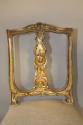 Carved gilt wood chair, French C19th - picture 3