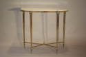 An elegant marble and gilt metal console - picture 2