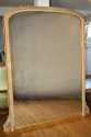 Large Victorian English Overmantle Mercury Gl - picture 1