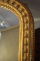 Large Victorian English Overmantle Mercury Gl - picture 2