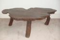Antique table,  English Burr Elm wood. - picture 1