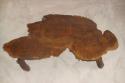 Antique table,  English Burr Elm wood. - picture 3