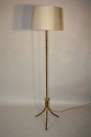 Gold and red metal bamboo floor light - picture 3