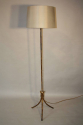 Gold and red metal bamboo floor light - picture 4