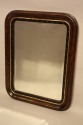 Small English curved edge mirror - picture 2