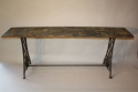 Victorian sewing machine long table/console - picture 2