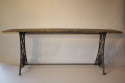 Victorian sewing machine long table/console - picture 3