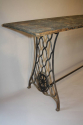 Victorian sewing machine long table/console - picture 5