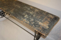 Victorian sewing machine long table/console - picture 7