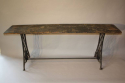 Victorian sewing machine long table/console - picture 9