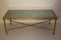 Ball and claw and mirror rectangular coffee table - picture 2