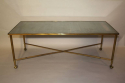 Ball and claw and mirror rectangular coffee table - picture 3