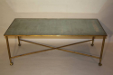 Ball and claw and mirror rectangular coffee table - picture 7