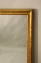 French C19th antique mercury glass overmantle mirror. - picture 3