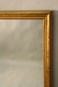 French C19th antique mercury glass overmantle mirror. - picture 4