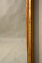 French C19th antique mercury glass overmantle mirror. - picture 5