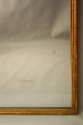 French C19th antique mercury glass overmantle mirror. - picture 6