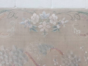 C19th hand embroidered silk - picture 4
