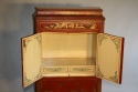 A 1920`s red chinoiserie tall cabinet - picture 4