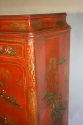 A 1920`s red chinoiserie tall cabinet - picture 5