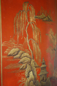 A 1920`s red chinoiserie tall cabinet - picture 6