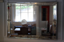 Antique Venetian rectangular mirror - picture 4