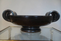 Vallauris brown glazed bowl, French c1950 - picture 1