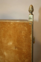 A pair of Art Deco style gilt brass triptych dressing table mirrors - picture 5