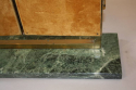 A pair of Art Deco style gilt brass triptych dressing table mirrors - picture 6