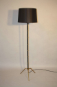 Black and gold floor lamp - picture 1
