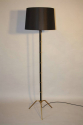 Black and gold floor lamp - picture 2