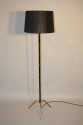 Black and gold floor lamp - picture 3