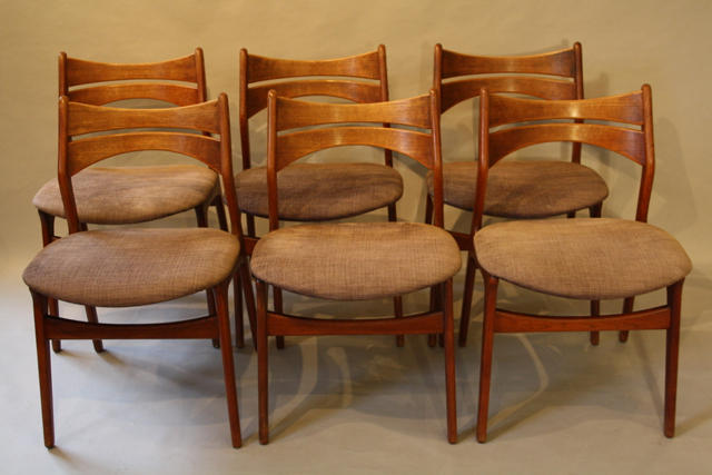 erik buch danish dining chairs in furniture