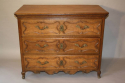 C18th carved Oak chest of drawers - picture 1