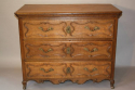 C18th carved Oak chest of drawers - picture 10
