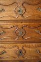 C18th carved Oak chest of drawers - picture 3