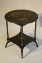 Two tier Chinoiserie decorated side table, C20th - picture 2