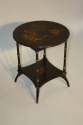 Two tier Chinoiserie decorated side table, C20th - picture 4