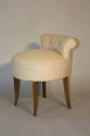 French 1950`s buttoned petite chairs - picture 2