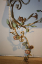 A pair of Italian Florentine metal floral and marble consoles - picture 5
