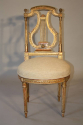 C19th carved gilt wood chair - picture 2