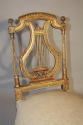C19th carved gilt wood chair - picture 3