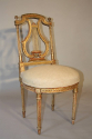 C19th carved gilt wood chair - picture 5