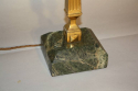 Pair of brass and marble table lamps - picture 5