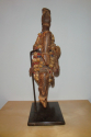 An early C20th  wooden figure decorated with beads and shells from Cam - picture 3