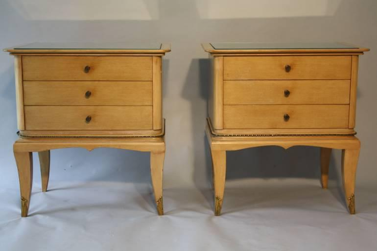 A pair of 1950`s side cabinets