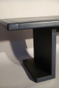 After Adnet - a vintage leather desk, French c1970`s - picture 3