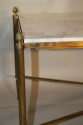 Gilt metal and marble table - picture 5