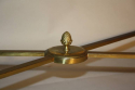 Gilt metal and marble table - picture 6