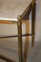 Gilt metal and marble table - picture 7